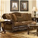 Signature Design by Ashley Fresco DuraBlend - Antique Sofa - Item Number: 6310038