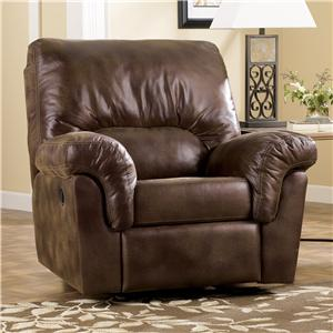 Signature Design by Ashley Frontier - Canyon Upholstered Rocker Recliner