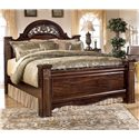 Signature Design by Ashley Gabriela King Poster Bed - Item Number: B347-68+66+99