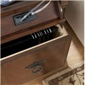 Signature Design by Ashley Hamlyn  Rectangular End Table - File Storage and Media Outlets