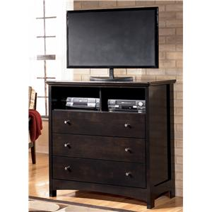 Signature Design by Ashley Furniture Harmony Media Chest