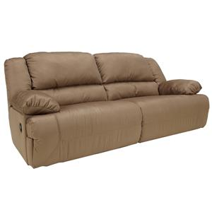 Signature Design by Ashley Hogan - Mocha Reclining Sofa