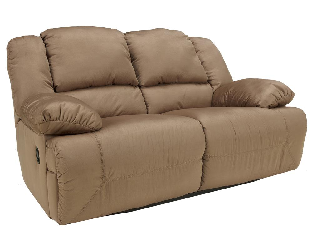 Signature Design by Ashley Hogan - Mocha Reclining Loveseat - Item Number: 5780286