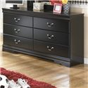 Signature Design by Ashley Huey Vineyard Dresser - Item Number: B128-31