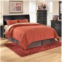 Signature Design by Ashley Huey Vineyard King Sleigh Headboard - Queen Size Bed Shown