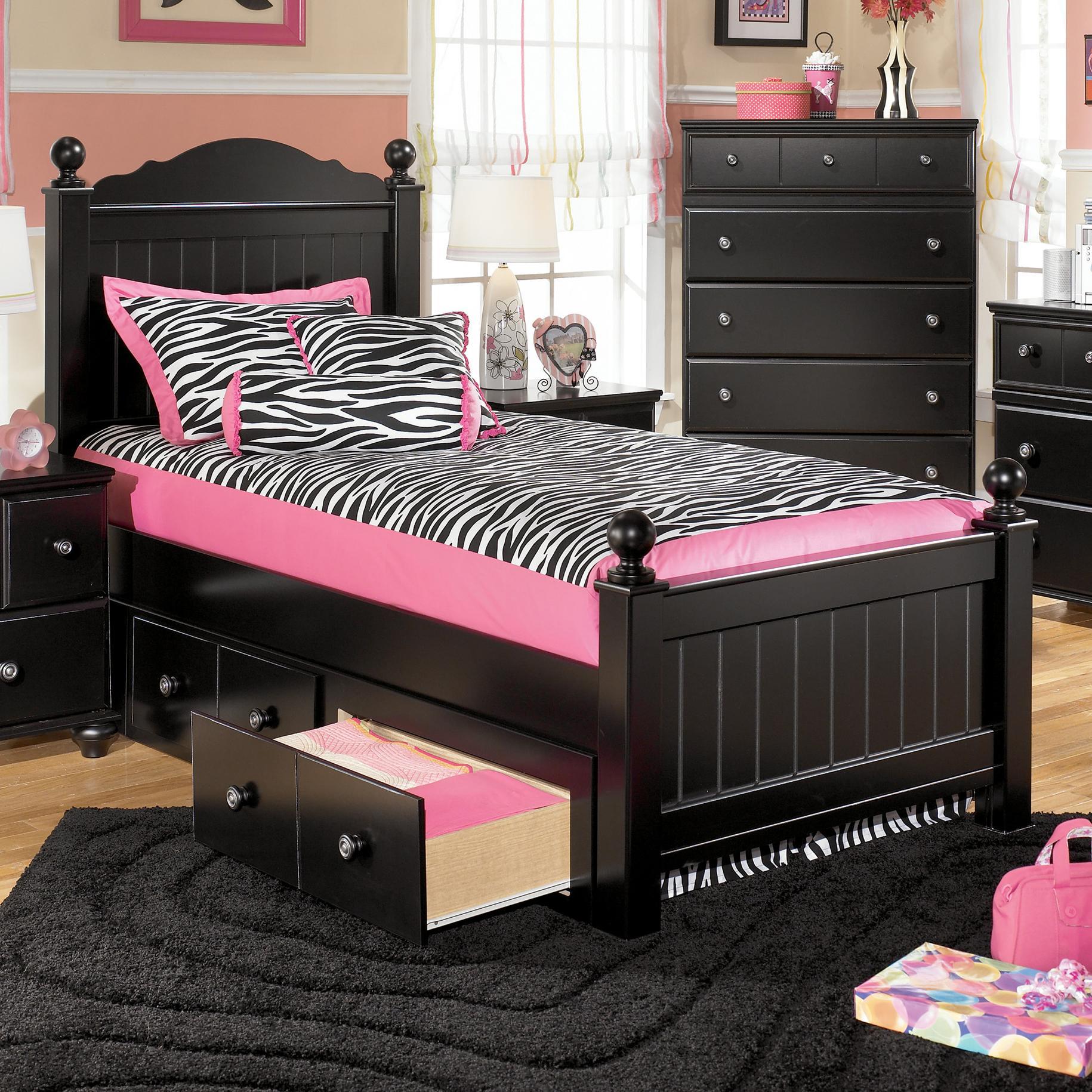 Jaidyn Bedroom Set Signature Design By Ashley Jaidyn Twin Poster Headboard