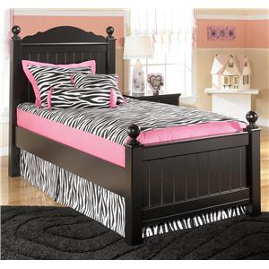 Signature Design by Ashley Jaidyn Twin Poster Bed