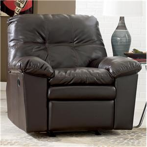Signature Design by Ashley Jordon DuraBlend - Java Rocker Recliner
