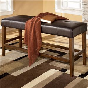 Signature Design by Ashley Lacey Counter Height Dining Bench