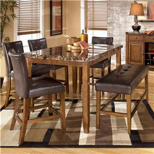 Signature Design by Ashley Lacey 6-Piece Table & Chairs Set