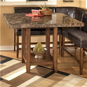 Signature Design by Ashley Lacey Square Counter Height Table