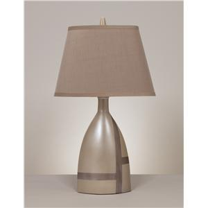 Signature Design by Ashley Lamps - Contemporary Set of 2 Mia Table Lamps