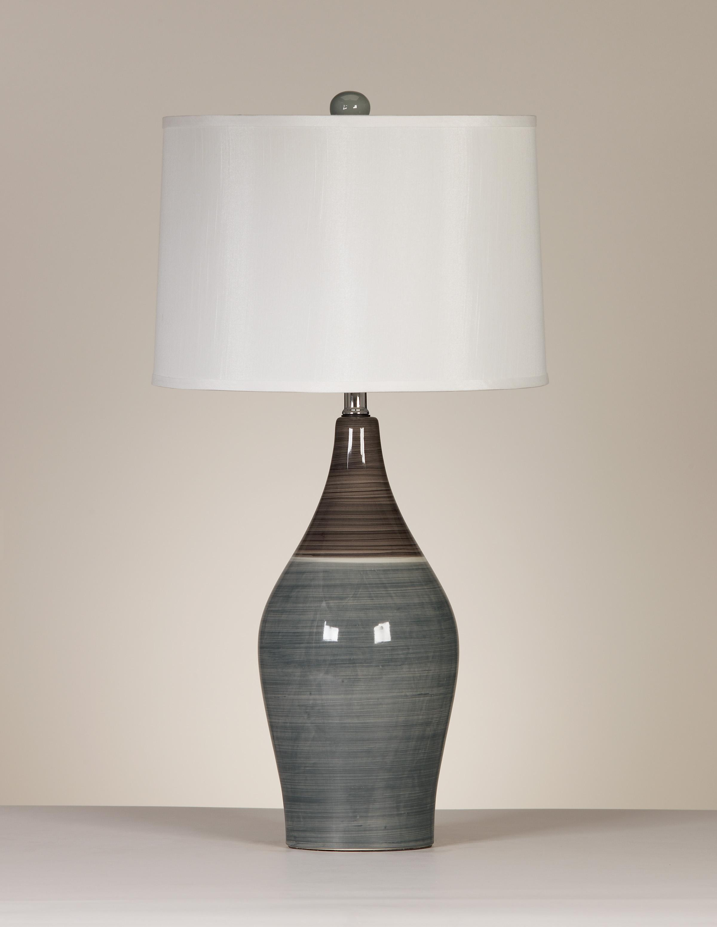 Signature Design by Ashley Lamps - Contemporary Set of 2 Niobe Table Lamps - Item Number: L123884