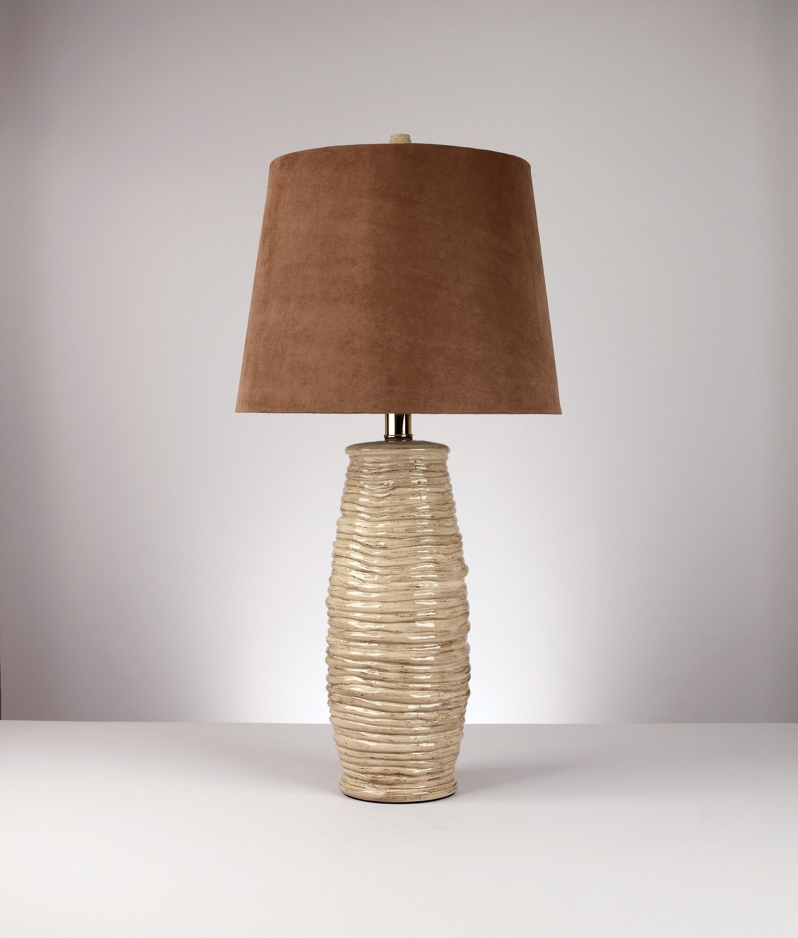 Signature Design by Ashley Lamps - Contemporary Set of 2 Haldis Table Lamps - Item Number: L136534
