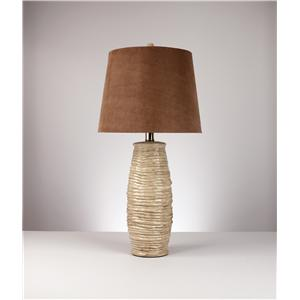 "Signature Design by Ashley Lamps - Contemporary ""Haldis""Pair of lamps"