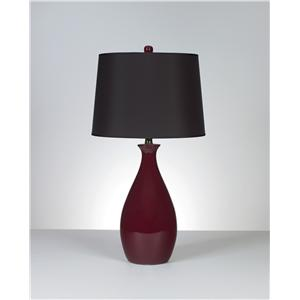 Signature Design by Ashley Lamps - Contemporary Set of 2 Jemma Table Lamps