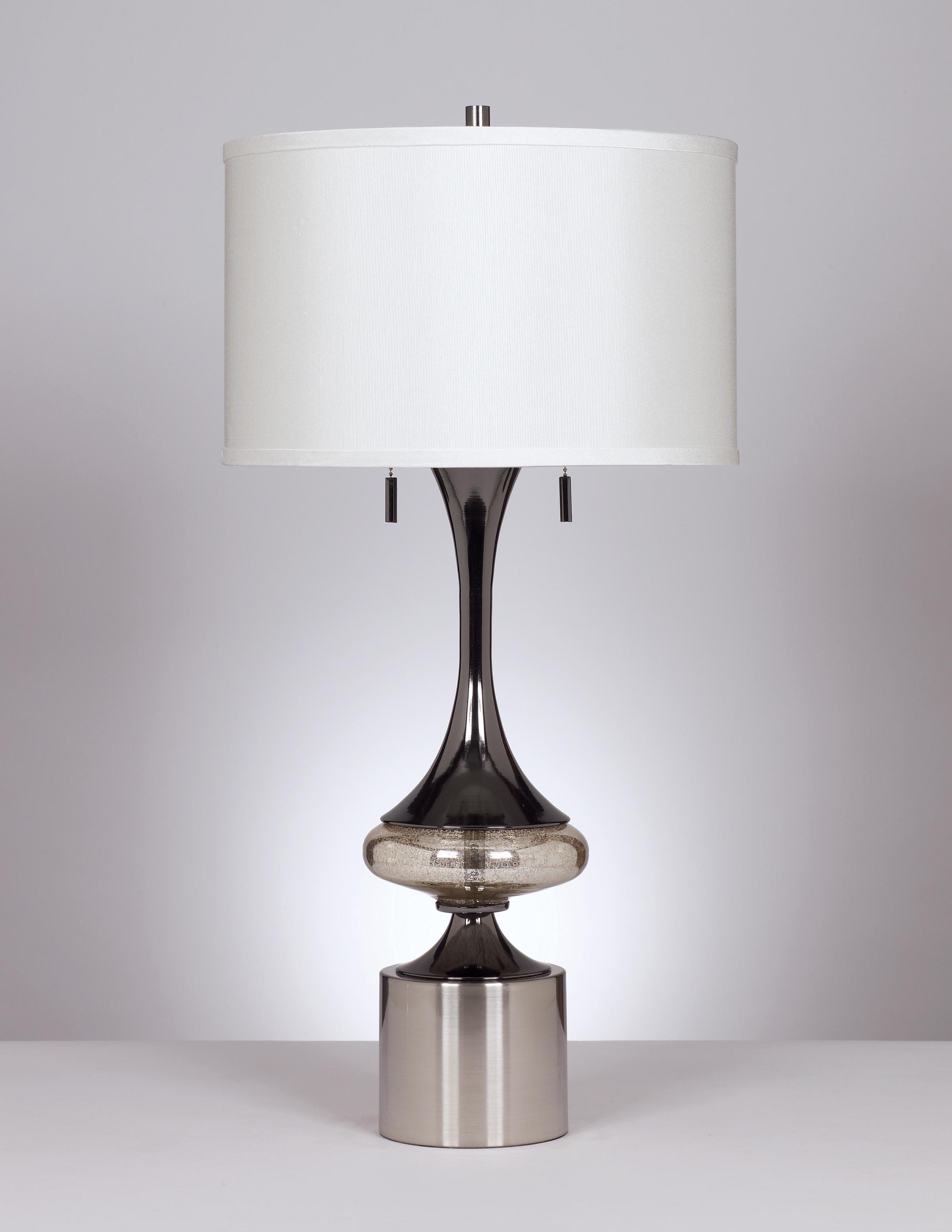 Signature Design by Ashley Lamps - Contemporary Set of 2 Marsha Table Lamps - Item Number: L433294