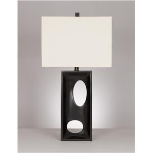 Signature Design by Ashley Lamps - Metro Modern Set of 2 Maxine Table Lamps