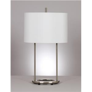 "Signature Design by Ashley Lamps - Metro Modern ""Maisie"" Pair of lamps"