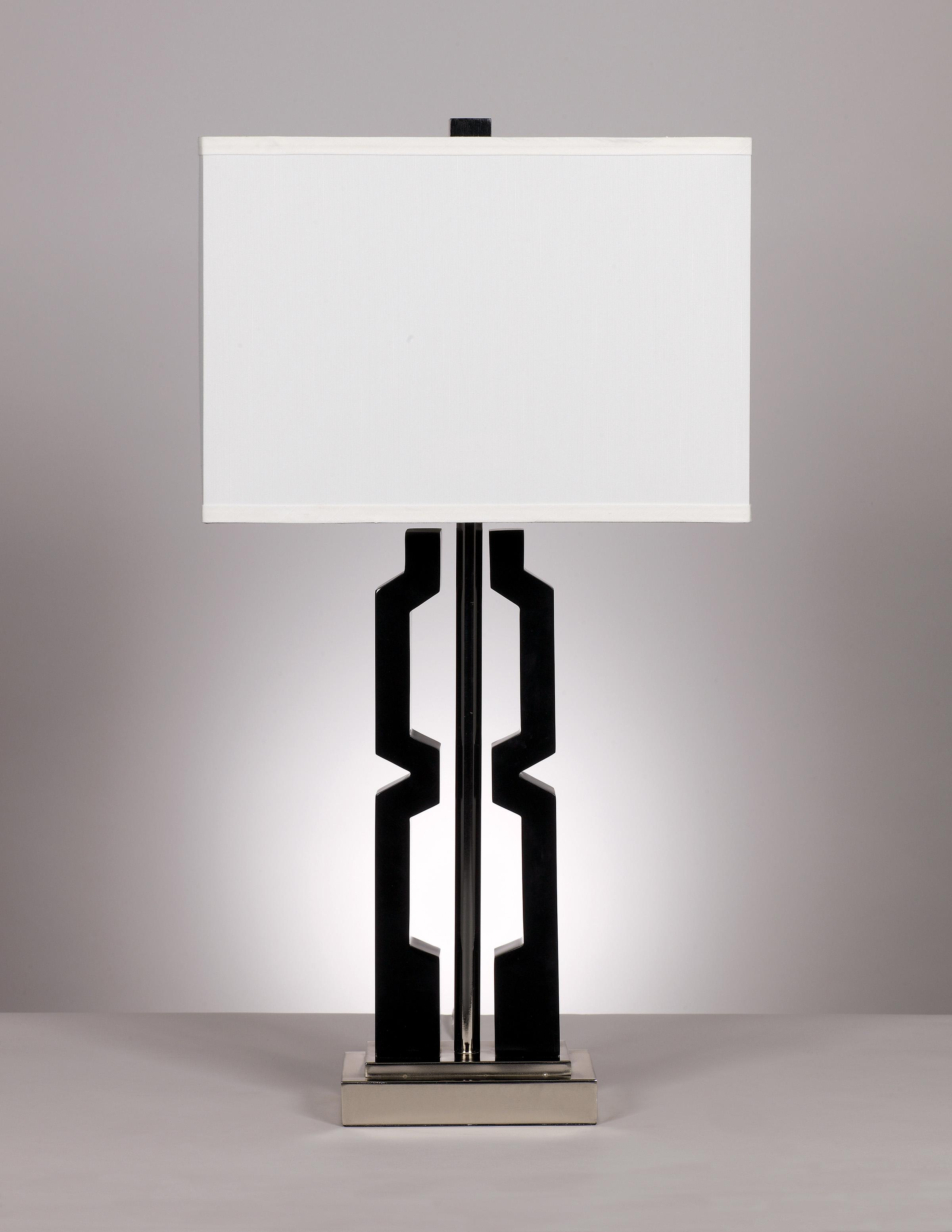 "Signature Design by Ashley Lamps - Metro Modern ""Mitzi"" Pair of lamps - Item Number: L417294"