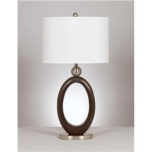 "Signature Design by Ashley Lamps - Metro Modern ""Meckenzie"" Pair of lamps"