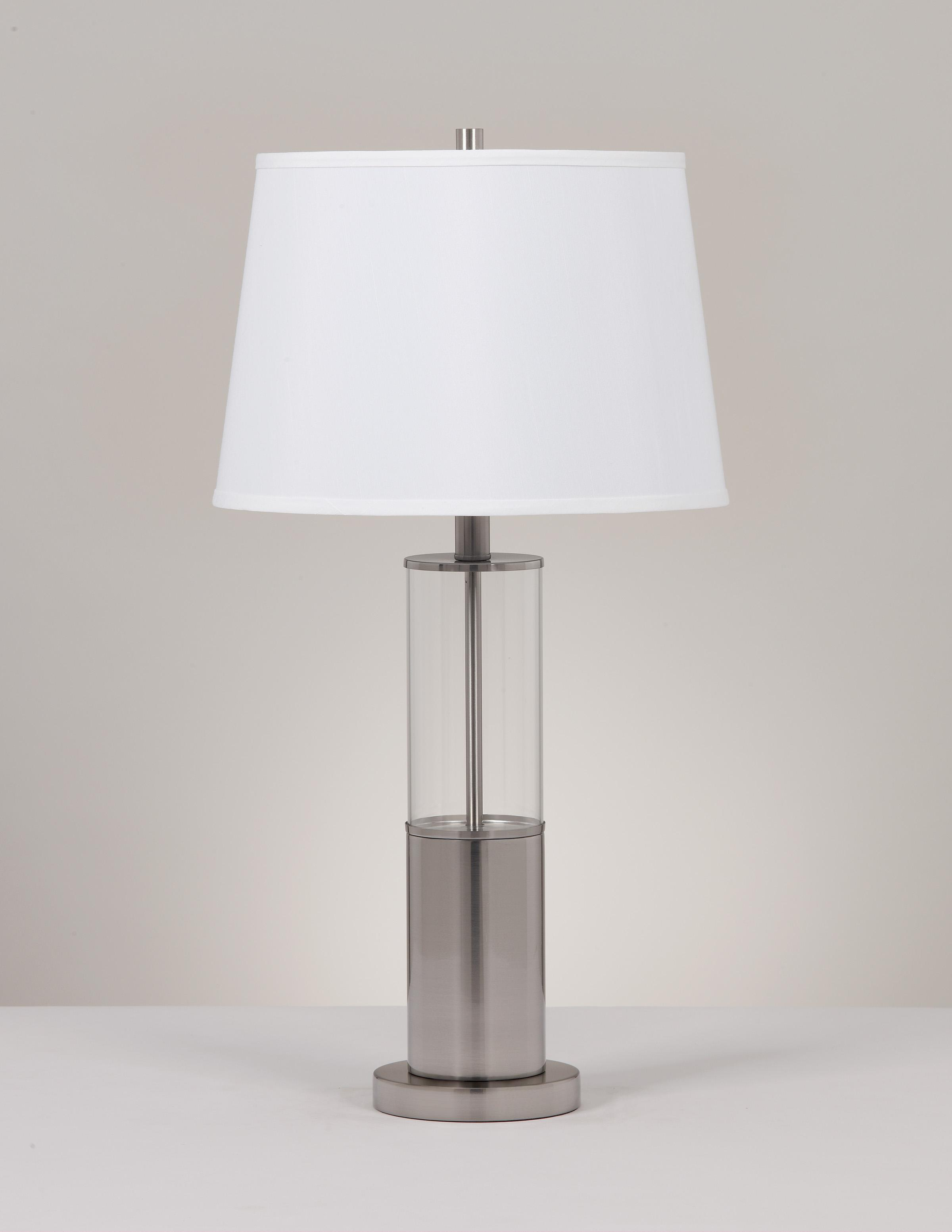Signature Design by Ashley Lamps - Metro Modern Set of 2 Norma Table Lamps - Item Number: L431354
