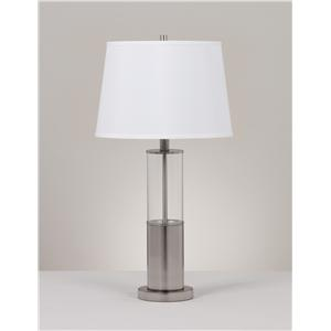 Signature Design by Ashley Lamps - Metro Modern Set of 2 Norma Table Lamps