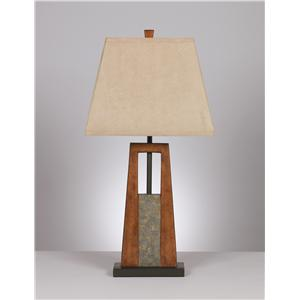 Signature Design by Ashley Furniture Lamps - Vintage Style Morgan