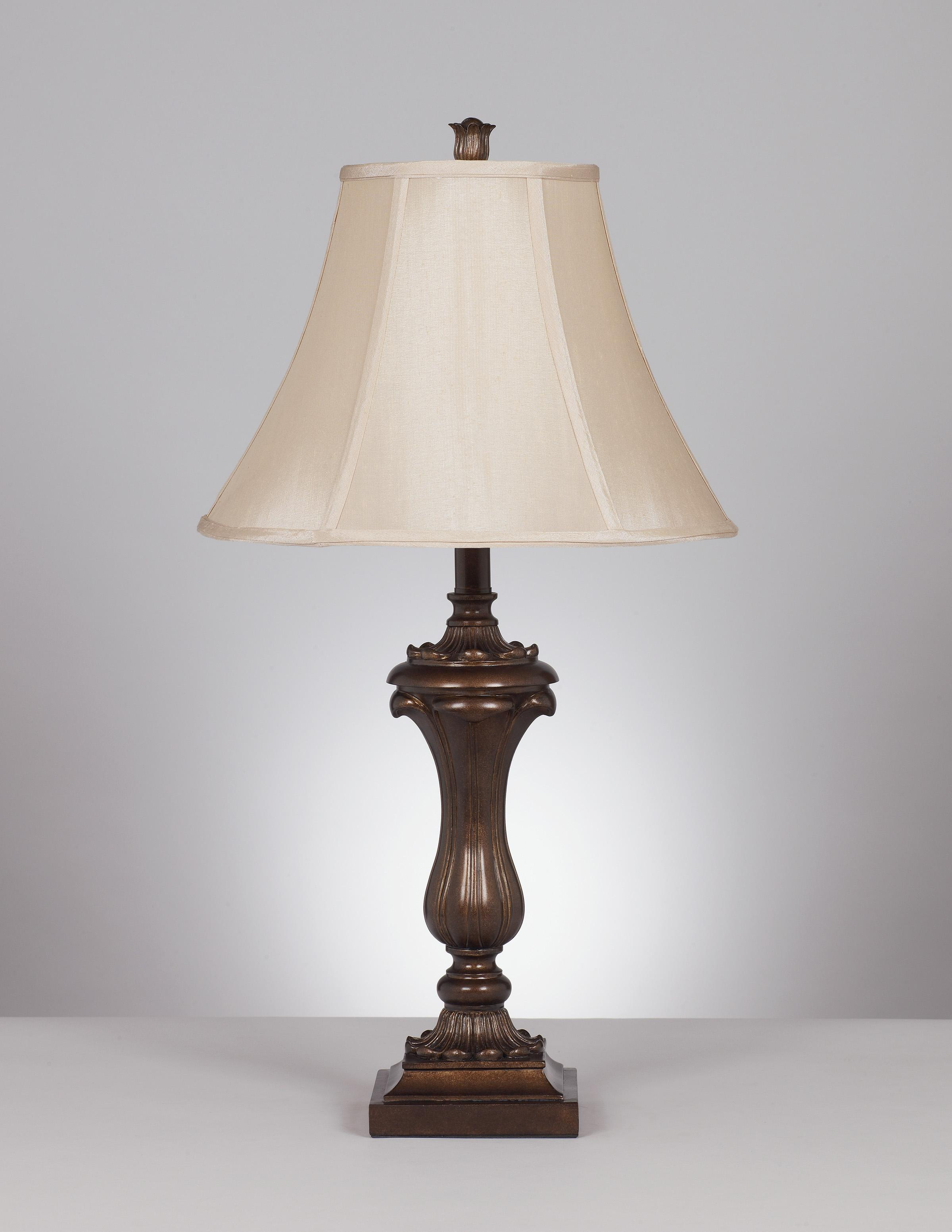 Signature Design by Ashley Lamps - Traditional Classics Set of 2 Mabel Table Lamps - Item Number: L369934