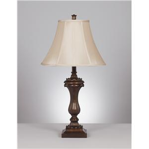 Signature Design by Ashley Lamps - Traditional Classics Set of 2 Mabel Table Lamps