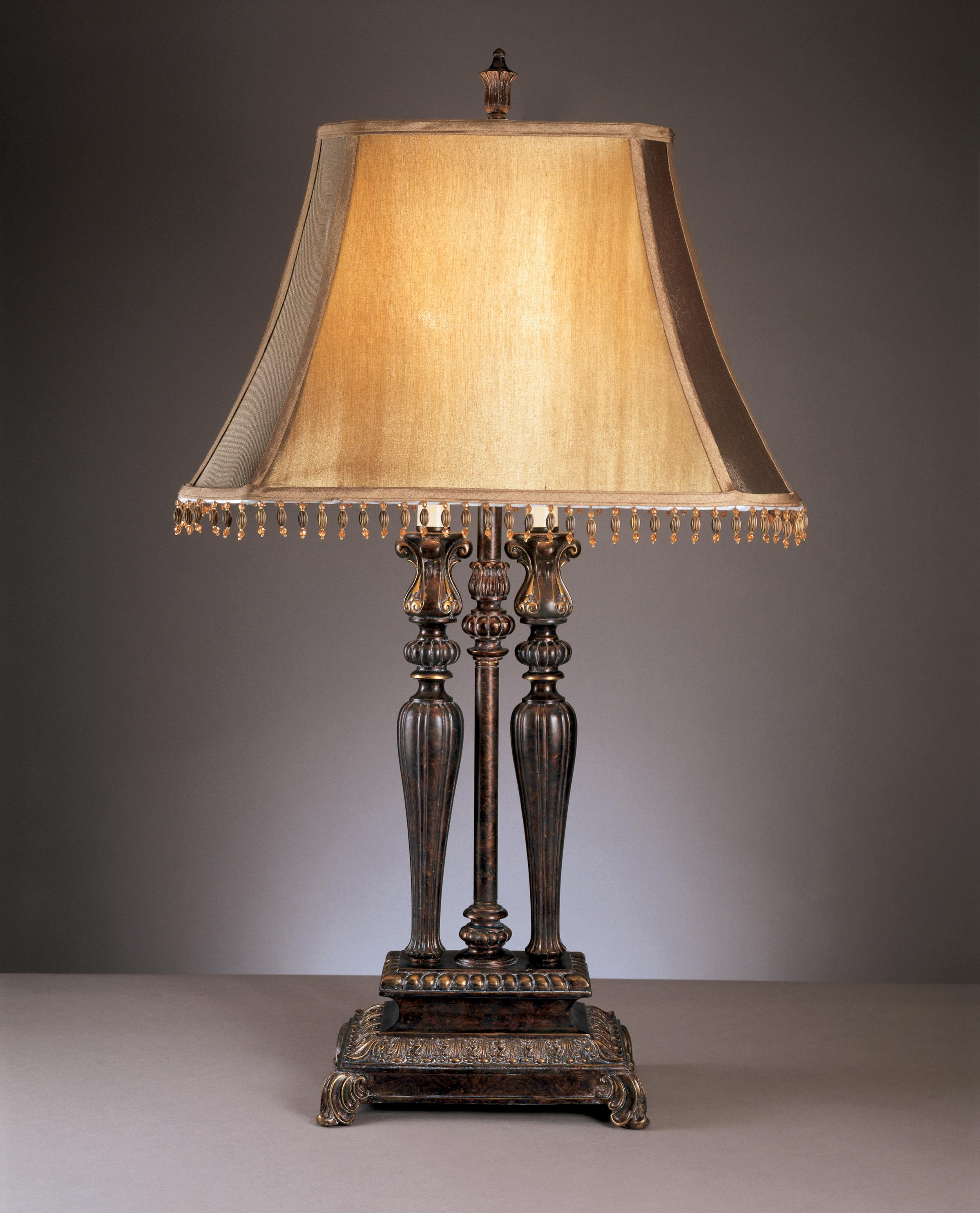 Signature Design by Ashley Lamps - Traditional Classics Set of 2 Desana Table Lamps - Item Number: L370974