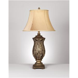 Signature Design by Ashley Lamps - Traditional Classics Set of 2 Katarina Table Lamps