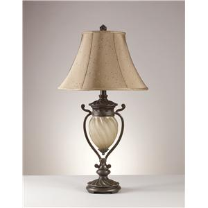 Signature Design by Ashley Lamps - Traditional Classics Set of 2 Gavivi Table Lamps