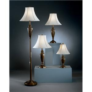 Signature Design by Ashley Lamps - Traditional Classics 4pc set