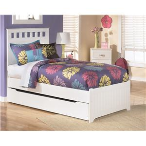 Signature Design by Ashley Lulu Twin Bed with Storage/Trundle