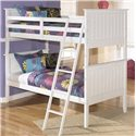 Signature Design by Ashley Lulu Twin/Twin Bunk Bed - Item Number: B102-59P+R+S