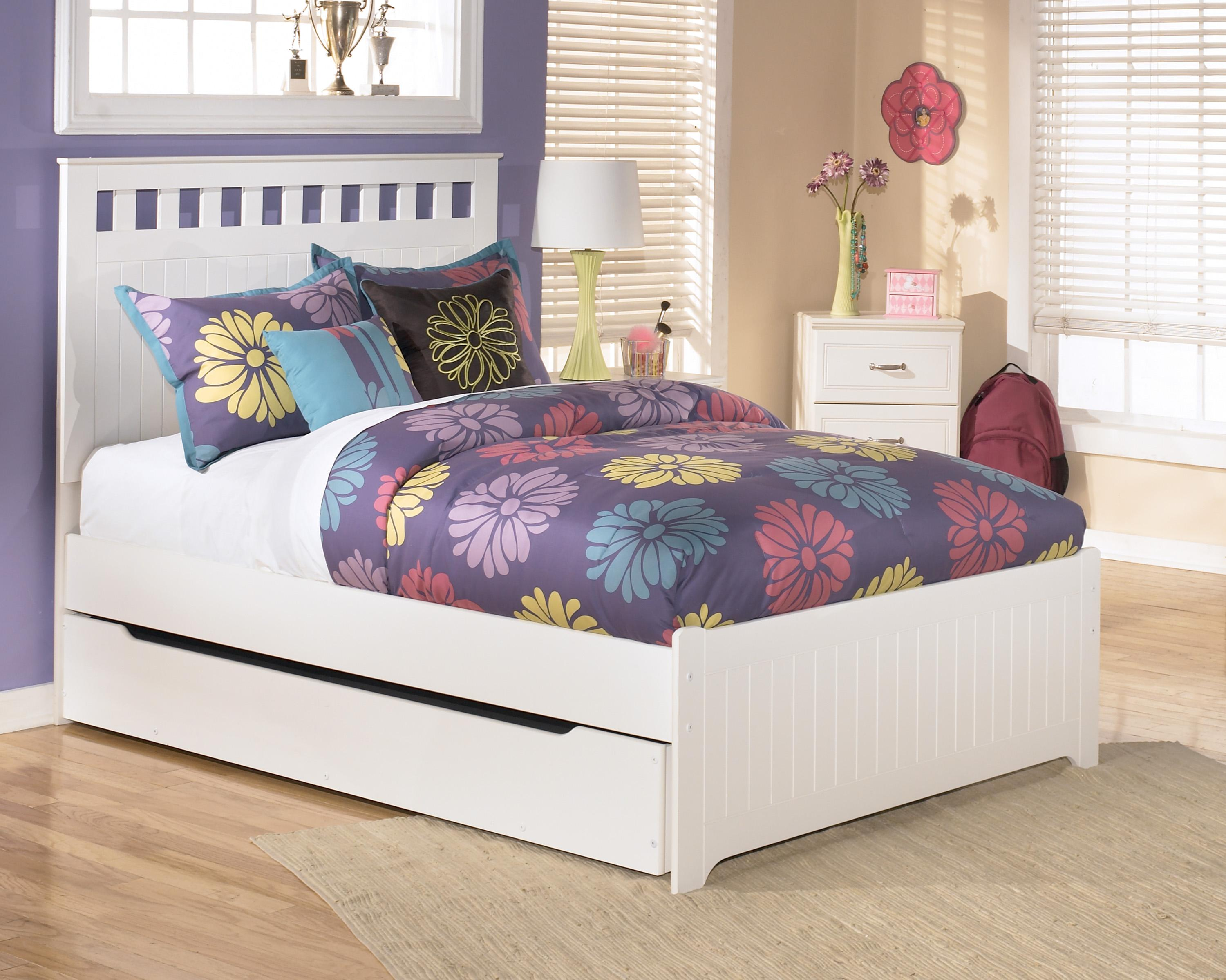 Signature Design by Ashley Lulu Full Bed with Storage/Trundle - Item Number: B102-87+84+60+86