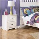 Signature Design by Ashley Lulu Nightstand - Item Number: B102-92