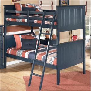 Ashley Signature Design Leo Twin/Twin Bunk Bed