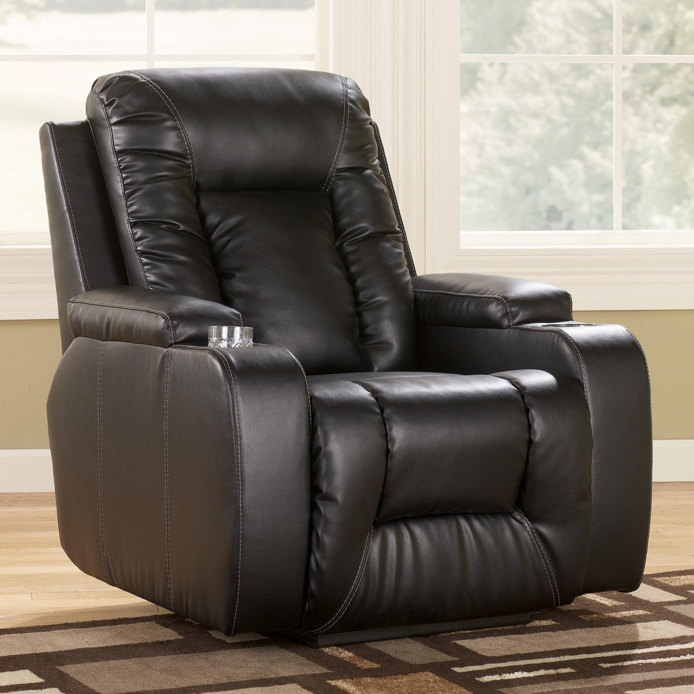Signature Design by Ashley Matinee DuraBlend® - Eclipse Power Recliner  - Item Number: 8740106