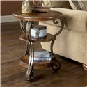 Signature Design by Ashley Nestor Round Chairside End Table - Item Number: T517-7