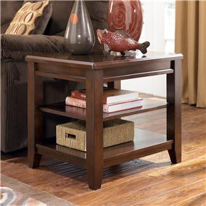 Signature Design by Ashley Furniture Nigel Rectangular End Table