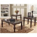 Signature Design by Ashley North Shore 3-in-1 Pack of Occasional Tables - Item Number: T533-13