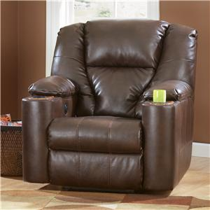 Signature Design by Ashley Paramount DuraBlend® - Brindle Zero Wall Recliner