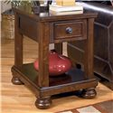 Signature Porter Chairside End Table - Item Number: T697-3