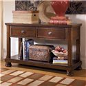 Signature Design by Ashley Porter Sofa Table/Media Console - Item Number: T697-4
