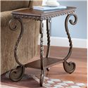 Signature Design by Ashley Rafferty  Chairside End Table - Item Number: T382-7