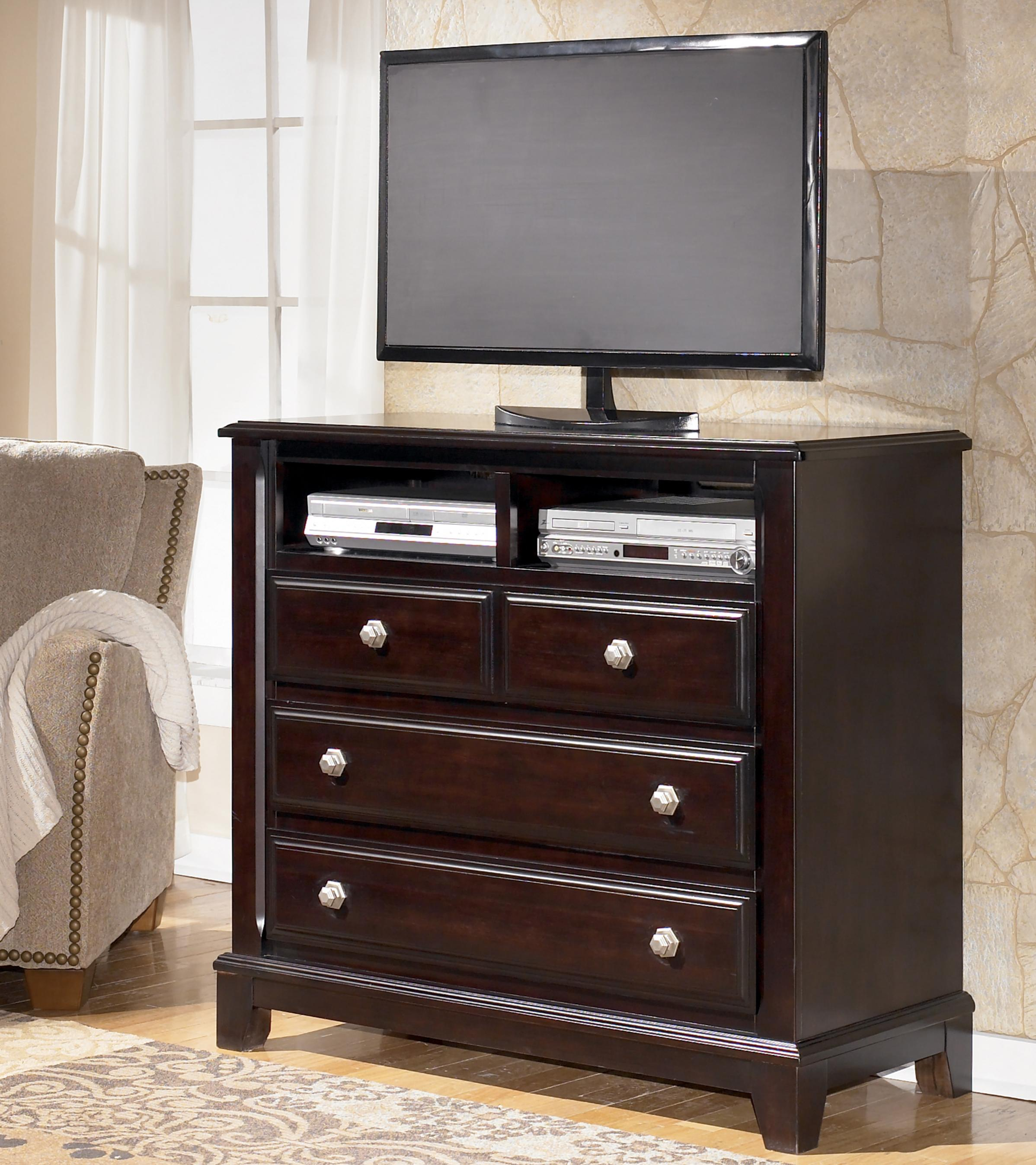 Signature Design by Ashley Ridgley Media Chest - Item Number: B520-39