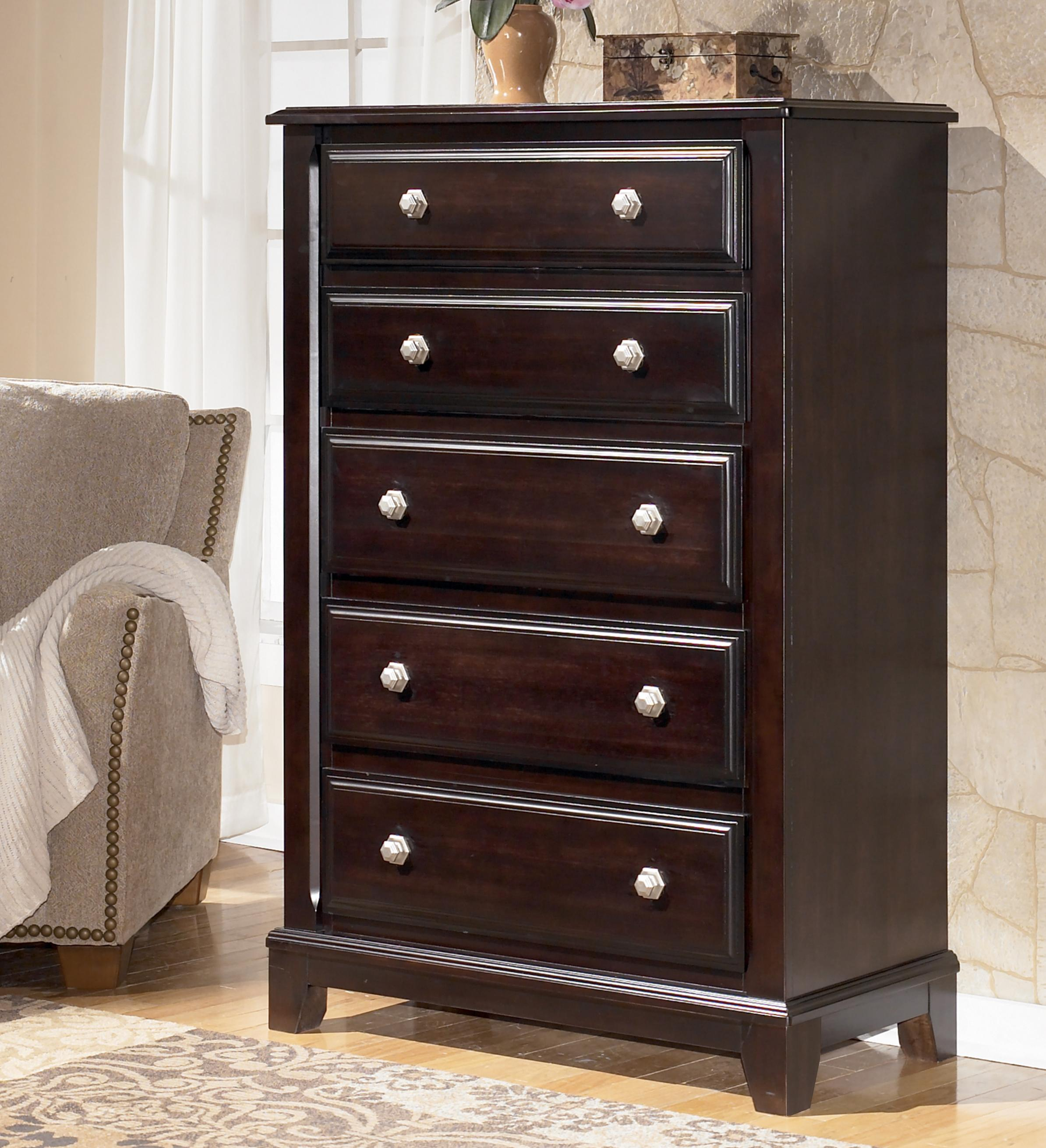 Signature Design by Ashley Ridgley Chest - Item Number: B520-46