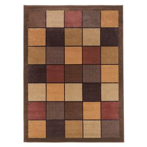 Signature Design by Ashley Contemporary Area Rugs Patchwork - Brown Rug